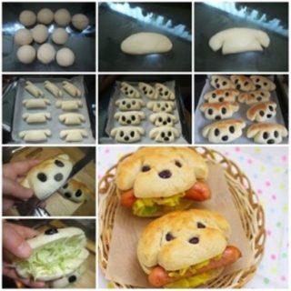 Wonderful DIY Cute Hot Dog Sandwich