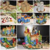 Wonderful DIY Paper Rolls Into Coral Reef Pencil Holder