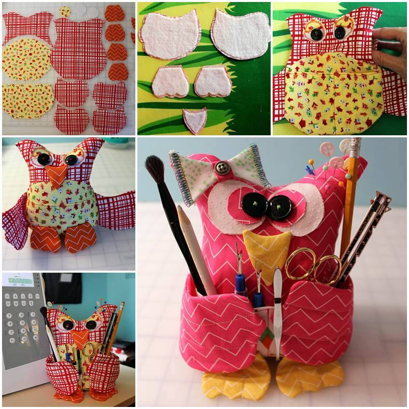 diy fabric craft ideas fabulous fabric owl pillow free template and guide 4251