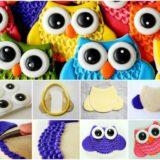 Wonderful DIY Cute Owl Cookies With Big Eyes
