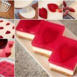 Wonderful DIY Yummy Strawberry Heart Jelly