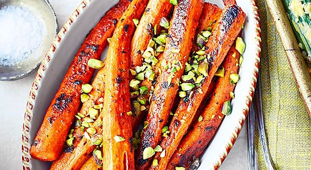 Delicious Spice Roasted Carrots