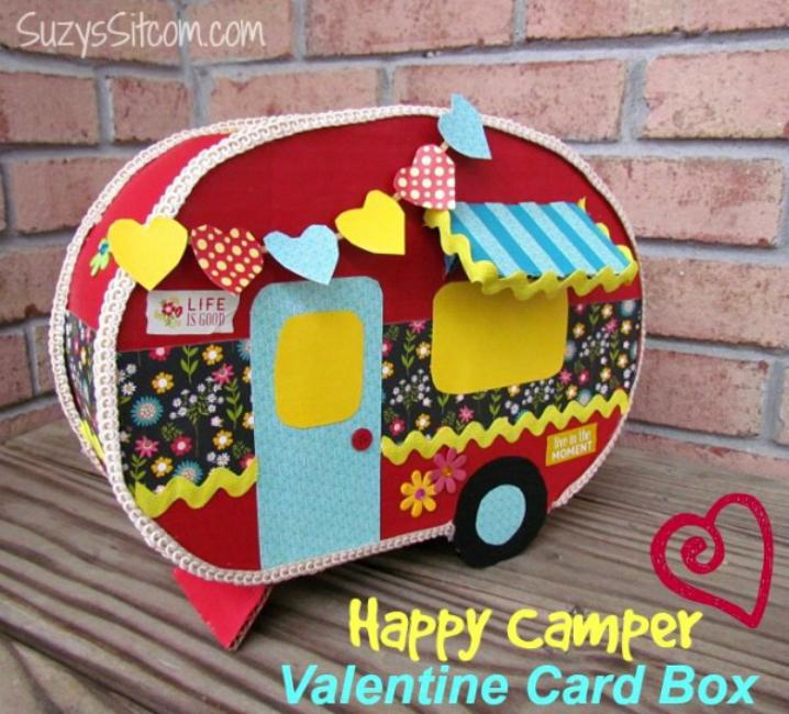 Camper Valentine's Box