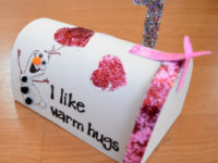 DIY Frozen Valentine's Box 200x150 9 Valentine's Day Mailboxes for Kids