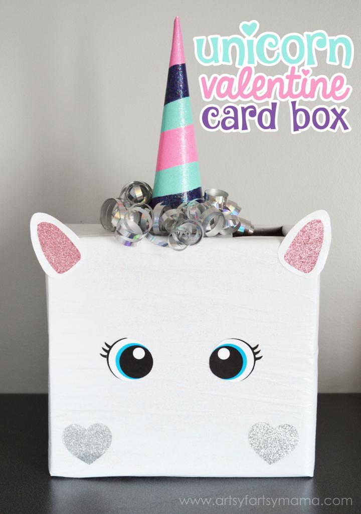 DIY Unicorn Valentine's Box