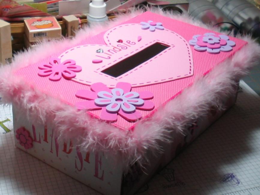 Girl's Valentine's Box