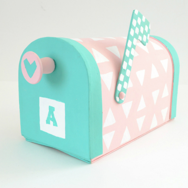 Pastel Valentine's Box