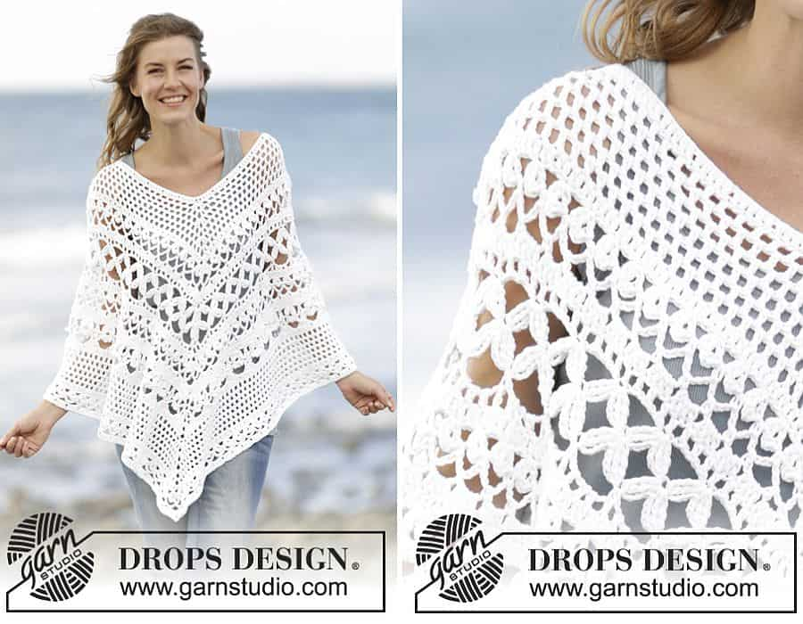 Flatter Your Figure with these Free Crochet Poncho Patterns