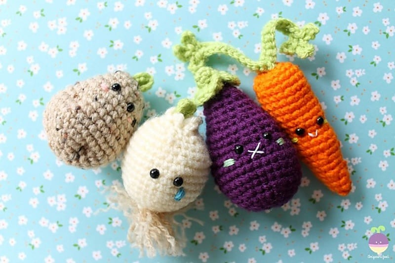 Amigurumi Vegetable Patterns : Crochet patterns vegetables free dancox for