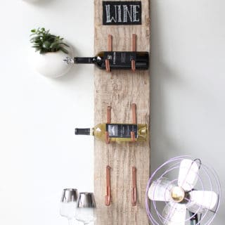 Wine O'Clock: Ingenious and Innovative DIY Wine Racks